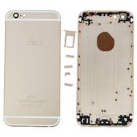 оптовых дюймовые панели-OEM iPhone 6 Plus 5.5-дюймовая задняя панель Металлический корпус батарейного отсека Задняя крышка задней части задней части задней части рамы