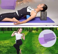 Wholesale Color Randomly PC Yoga Block Brick Foaming Foam Home Exercise Practice Fitness Gym Sport Tool Hot Sale