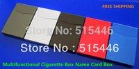 aluminum rifle case - Small Aluminum Alloy Rifle Ultra thin Yanhe Automatic Cigarette Case Multifunctional Card Stock