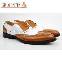 beautiful mens shoes - korean style classic mens oxfords shoes genuine leather spell color beautiful carved flats for men office party size6