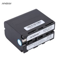 Wholesale Andoer FD F970 Video Camera Camcorder Li ion Battery Rechargeable DV Battery mAh for Sony HDV FXIE HVR Z1C DSR PD190P etc