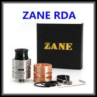 allen screws - 18650 ZANE RDA Atomizer Clone Vape In Copper Silver Colors with Allen Set Screws mm Rebuildable Dripper Tank DIY E Cigarette