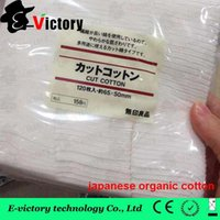 Wholesale Puff RDA Wicking cotton from puff japanese organic cotton japan puff organic cotton