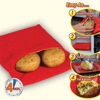 potato express - Brand New Potato Express Cooker Bag Polyester Fabric For Microwave Bake Cooking Fast With Logo Packing