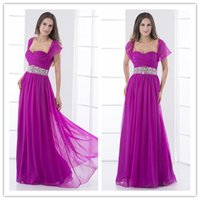 best designer gowns - 2016 Casual Designer Best Selling Long Purple A line Cap Sleeves Beaded Belt Party Evening Dresses Gowns For Girls ed7132