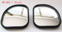 accord side mirror - Auxiliary mirror car side mirror blind spot mirror wide angle mirror after mirror as the sector according to mirror black
