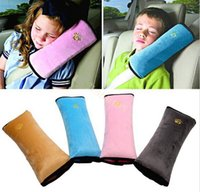 Wholesale nterior Accessories Seat Belts Padding Car safe belt Baby Auto Pillow Car Safety Protect Belt Shoulder Pad adjust device Vehicle Children