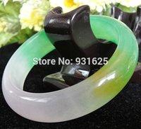 burma natural jade - High Quality A grade Pure colors Natural Jade Burma Bangle Bracelet Natural Stone Bangles Fashion Jewelry