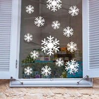 Wholesale Snowflakes mural wall window vinyl decal sticker holiday Christmas Decor
