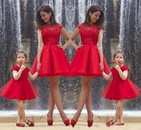 Precio de Vestido de fiesta de la hija madre,2016 Cap Madre e hija vestidos