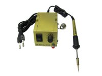 Fast Powerful Palm Taille mini station de soudage d'or 110V US Plug pour SMD, SMT, DIP Soldering Work Long Life Heater
