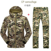 Cheap Camping & Hiking Camping Hiking ski Male set clothing Best Men Polyester Outdoor Jacket&Pant