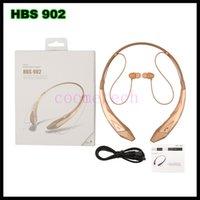 boxing wear - Universal HBS wireless bluetooth earphone CSR4 HBS902 stereo headset wireless wearing style headphone sport headphone in retail box