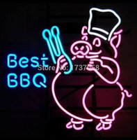 best public - BEST BBQ OPEN Neon Sign Commercial Sign Nikke Air Jorrdan LED North Kirin Earthquakes Jets Rock Glass Tube Smell Sign Coors quot X14 quot