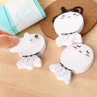 Wholesale 20pcs Creative Sticky Note Pad Memopad Notewidget Sunny Doll Design Cartoon Paper Note fn003