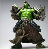 Wholesale 12pcs CM WOW World of Warcraft SERIES DC SHAMAN PVC Action Figure Collectable Model Toy Doll