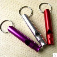 Wholesale Outdoor tourism supplies multi worlds travel essentials for creative universal packet whistle whistles stainless steel liu tao