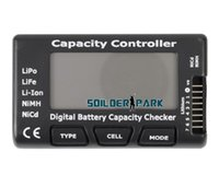 battery capacity analyzer - Digital Battery Capacity Checker Battery Voltage Analyzer for Lipo Lilon LiFe Battery w Digit LED Display order lt no track