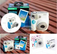 Wholesale Beauty Waterproof Fuji polaroid mini7S cameras auto focusing flash pink blue optional HD x720 Digital Cameras Fuji polaroid mini7S