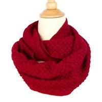 artificial corn - Colorful Warm Fashion knitting wool Corn Scarf Style Women s Autumn Winter Knit Artificial Wool Neckerchief Shawl