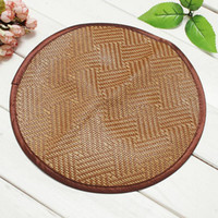 bamboo house designs - Beautiful Design Pet Dog Cat Hot Summer Cooling Bed Straw Tatami Bamboo Cozy Sleep Pad Mat Round