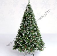 pine tree - 1 meters with Snow White pine tree Christmas decorations