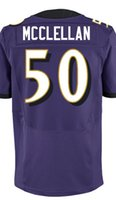 albert black - Factory Outlet Men s Albert McClellan Jersey Elite Purple White Black Stitched Name And Number