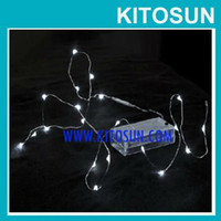 Wholesale China Sale CR2032 Coin Battery operated Micro LED vine lights White led Mini Copper Wire String Light Vase Decor Mini LED Light