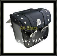 Wholesale Brand New Motorcycle saddle bags Pannier Saddlebag Black Guaranteed