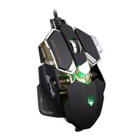 Wholesale LUOM G10 Buttons Colors DPI Adjustable Optical USB Wired Mouse Gamer Professional Macros Gaming Mouse Mice