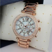 Wholesale luxury famous designer women rhinestone watches fashion luxury Brand Dress Michael ladies watch Dropship bj