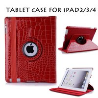 alligator skin ipad case - 360 Degree Rotation PU Leather Alligator Pattern Multicolor Case Cover for Ipad Elegant Fashion Accessory for Women