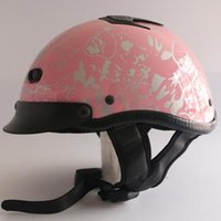 Wholesale new arrival motorcycle helmet Pilot harley scooter helmets jet cruising open face half helmet DOT approved