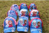 Wholesale best quality designs frozen Mesh hat minecraft caps TMNT hat cars sun hat superman princess hat boy girl baseball caps D285