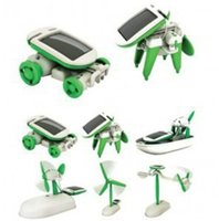 Wholesale AAAA quality DIY in Solar Educational Kit Toy Boat Fan Car Robot Power Moving Dog
