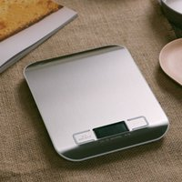 Wholesale Household Stainless Steel Electronic Baking Kitchen Scale Food Measured Banlance Digital Scales g g w Unit Converter order lt no trac