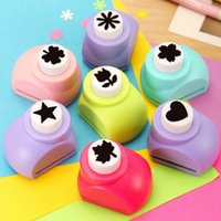 Wholesale 8 Styles Child Mini Printing Paper Hand Shaper Scrapbook Tags Cards Craft DIY Punch Cutter Tool