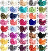 Cheap 180cm*70cm Big size Scarfs Best solid color scarves