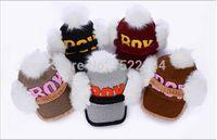 baseball caps hair - new lady warm woolen BOY Super Meng ear hair ball baseball cap