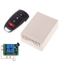 Wholesale 12V CH MHz Learning Code Receiver with Digital Wireless Remote Control NVIE order lt no track