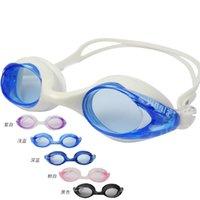 achat en gros de yingfa nager-2016 New yingfa Lunettes de natation authentique pour caoutchouc femmes et les hommes silicone Swim Eyewear Lunettes de sport de brouillard Anti Waterproof