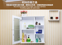 bathroom shelf mirror - Now contracted the bathroom mirror cabinet bathroom ark combination lens case toilet bathroom mirror with shelf lockers