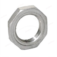 Wholesale New Stainless Steel Lock Nut O Ring Groove Pipe Fitting