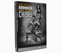 Wholesale DHL Free Fitness Videos DVD Hammer And Chisel Base Kit with Autumn Calabrese Bodybuilding Exercise Video Disc