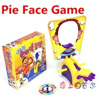 Wholesale Korea Running Man Pie Face Game Cream Hit Face Home Parent and Child Games Novelty Fun Anti Stress Prank Funny Rocket Toys