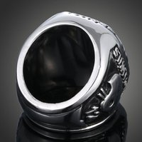 african soccer - Europe fashion soccer fans CZ diamond personality ring Dallas cowboy champion ring mix size