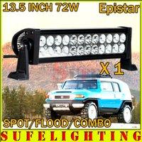 SUPER NOUVEAU 13.5inch 72W LED Travaux DRIVING Light BAR Car Off Road POUR TURCK 4WD ATV 4x4 FLOOD Spot Beam 36W / 60W