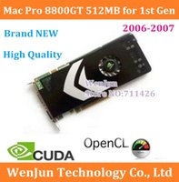 Wholesale FreeShipping Original NEW for mac pro Gen MACPRO GeForce GT M Video Graphics Card years warranty order lt no track