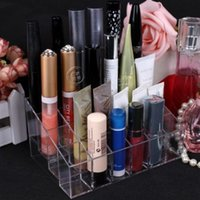 best makeup organizer - Best Price Clear Acrylic Lipstick Holder Display Stand Cosmetic Organizer Makeup Case