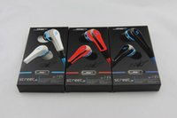 Wholesale Professional Mini mini SMS Street by Cent Street with MIC and Volume Control Earphones for iphone htc sumsang